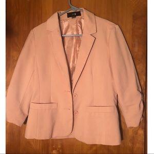 Blush colored blazer - Forever 21, size L